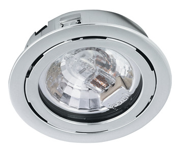 Recess mounted light, round, Haleos 4014, G4, halogen 12 V