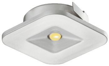 Recess mounted light, square, LED 4007 – Loox, plastic, 350 mA