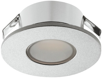 Recess mounted light/surface mounted downlight, Round, Häfele Loox LED 2022, 12 V