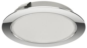 Recess mounted light/surface mounted downlight, round, multi-white, Häfele Loox LED 2048, 12 V