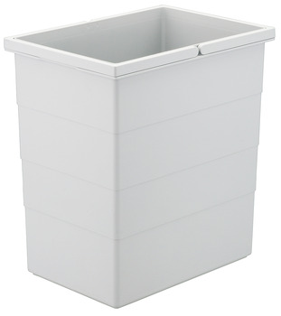 Replacement bin, 20 litres, Hailo Zargen-Cargo Moovit 3673-63, Zargen-Cargo 3670-51/61 and 3681-60