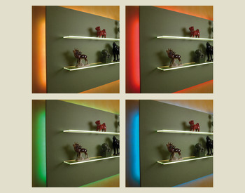 RGB colour changing lights, LED silicone strip light