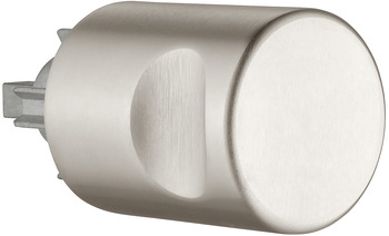 Rotary handle, blank, PZ 60, for locks with 7 mm square spindle aperture