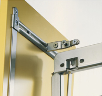 Scoop set, For hooking into door front fixing pull-out larder unit