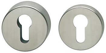 Security PC escutcheon , without cylinder cover, Hoppe