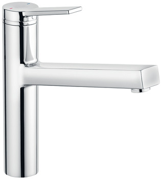 Single lever tap, fixed spout, high pressure (HP)