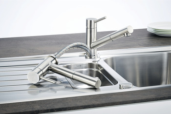 Single lever tap, Mixer tap, Franke Taros