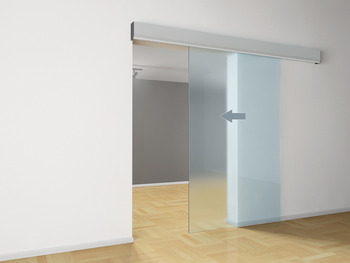 Sliding door drive, For wooden and glass doors
