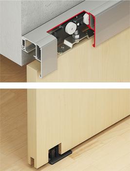Sliding door fitting, Slido Clic 40-P to 120-P   online at HÄFELE on