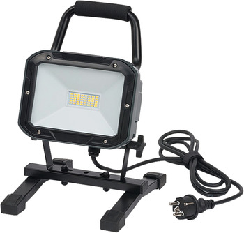 SMD LED light, IP54, 30 W, mobile