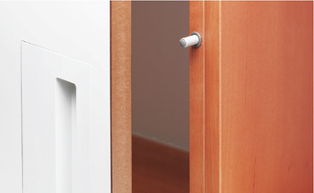 Soft-closing mechanism for doors, 970.1002, Blumotion, mounting on handle side
