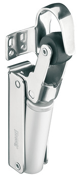 Soft closing mechanism for doors, for indoor and outdoor use