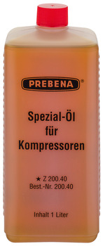 Special oil, for compressors
