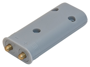 Spring contact, For contact strip system, 12 V