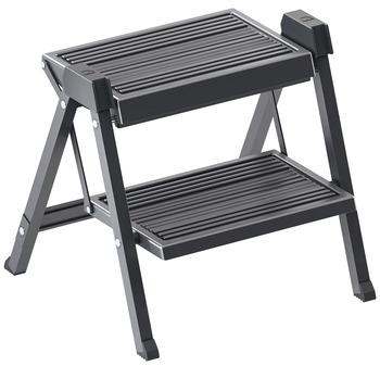 Fine Hafele Stepfix Step Stool White Gray Furniture Step Stools Evergreenethics Interior Chair Design Evergreenethicsorg