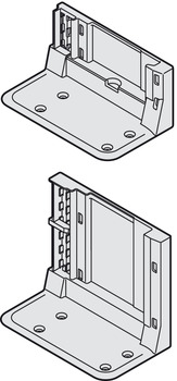Supporting bracket, Blum Servo-Drive, single or double