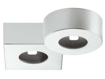Surface mounted housing, For Loox LED 2040 and other modular LEDs Ø 40 mm