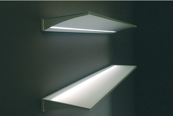 Peachy Surface Mounted Light Led 1814 Illuminated Glass Shelf Download Free Architecture Designs Embacsunscenecom