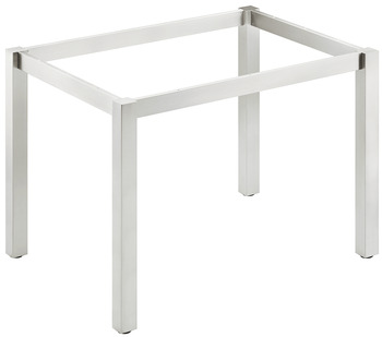 Table frame, Dismantled, stainless steel