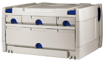 Tool box, Drawer systainer<sup>®</sup>, with 4 drawers
