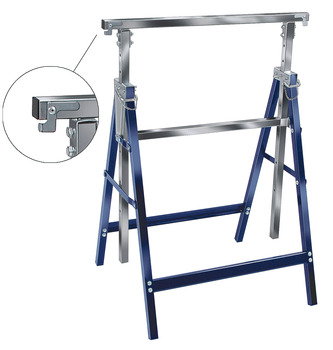 Trestle, Folding, height adjustable