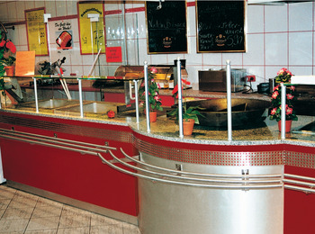 Tube, curved, stainless steel, curve U-shaped 180°, bar railing system