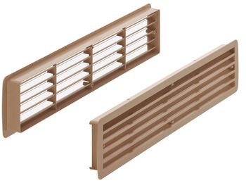 Ventilation grill, Plastic with frames, Startec