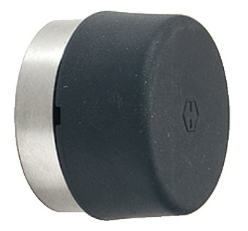 Wall mounted door stop, E487, for screw fixing, Hoppe
