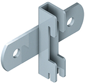 Wall spacer, rigid