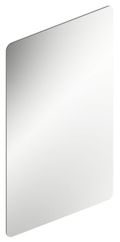Wardrobe mirror, on one side, stainless steel