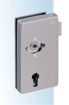 WC/bathroom lock for glass doors , Junior Office Classic, Dorma Glas