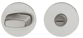 WC escutcheon, stainless steel, Hoppe