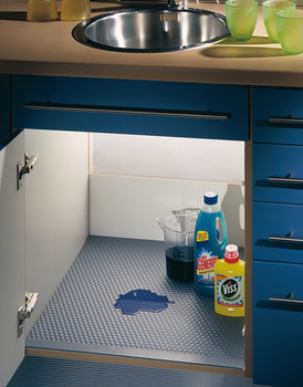 Wetness protection mat, For under sink cabinet, 2,000 x 580 mm, can be cut to size
