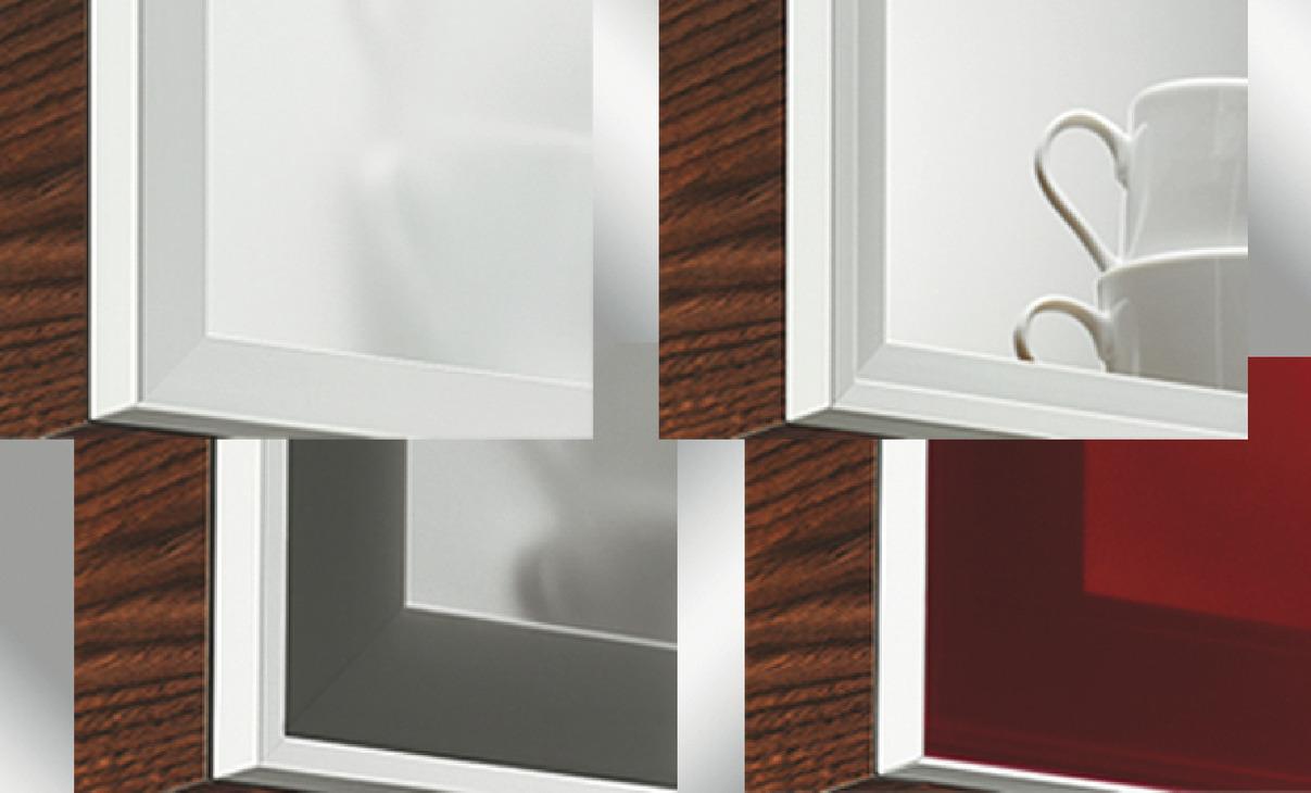 Aluminium frame with glass panel, Topco | online at HÄFELE