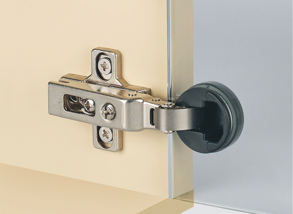 Concealed Hinge Duomatic 94 Blind Corner Application For Glass