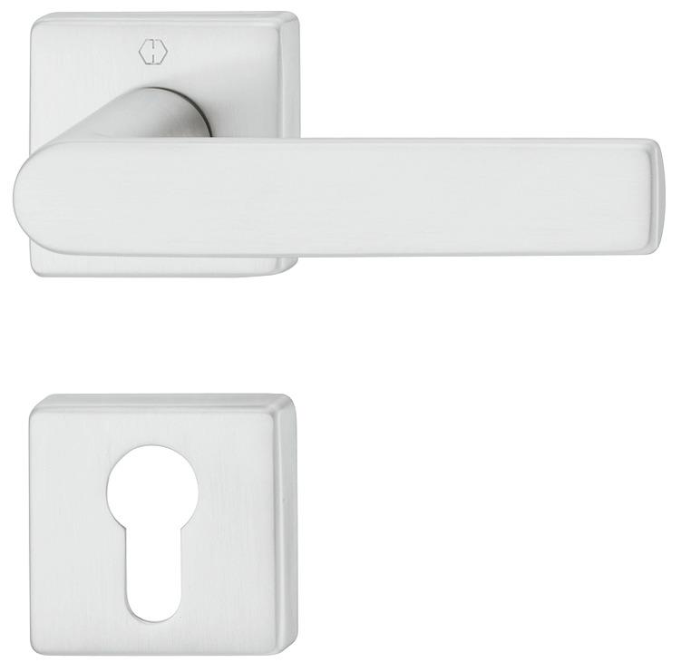 Door Handle Set Brass Hoppe Los Angeles M1642 843kv 843kvs