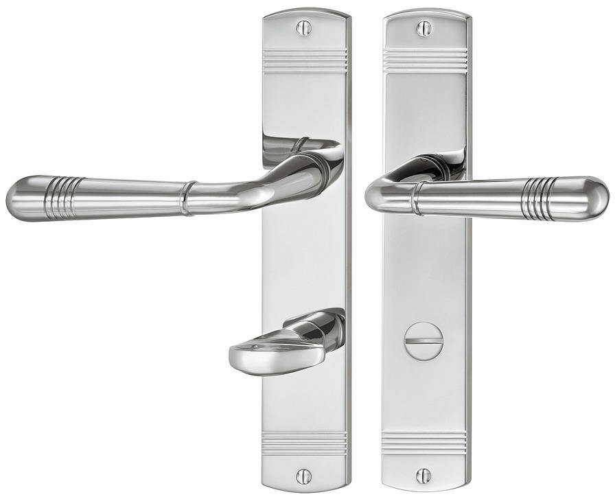 Beau Door Handle Set, Brass, Jatec, Montparnasse S 416/354 | Online At HÄFELE