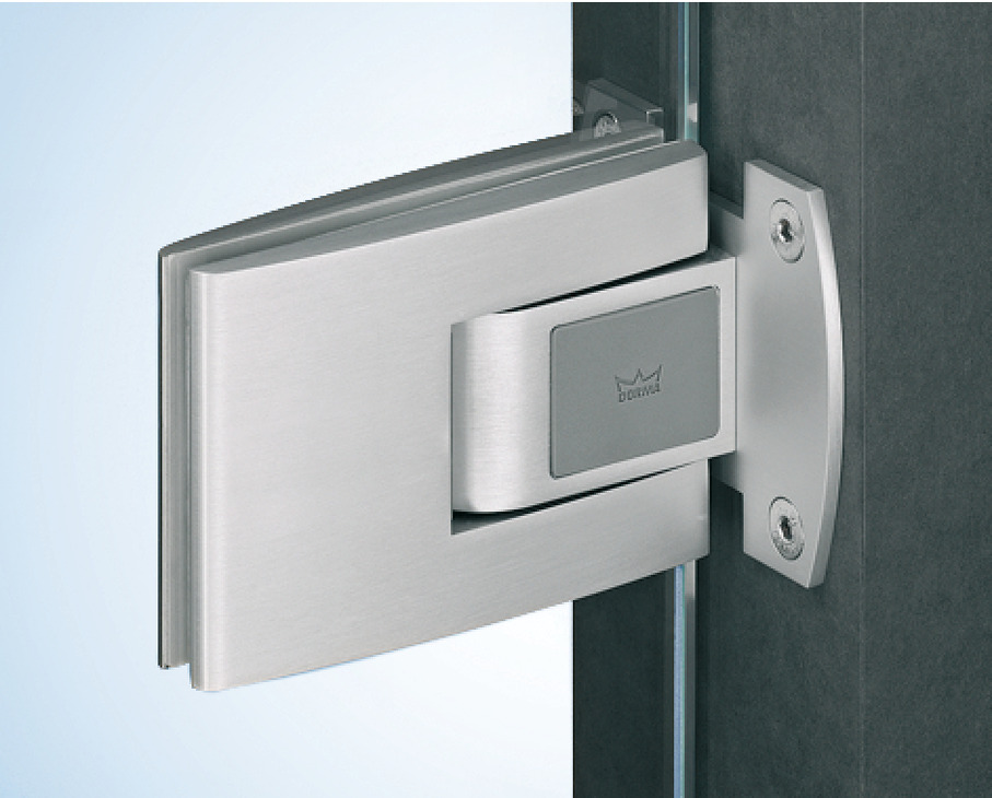 Double Action Spring Hinge Tensor Dorma Glas For All Glass Double