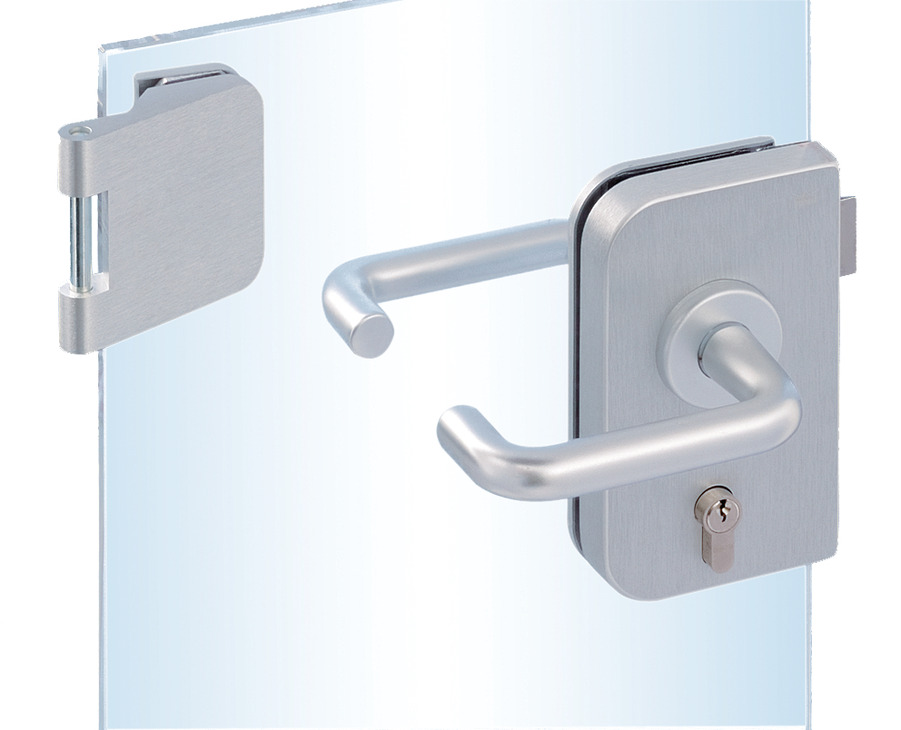 Glass Door Fitting Set Junior Office Dorma Glas With 3 Piece