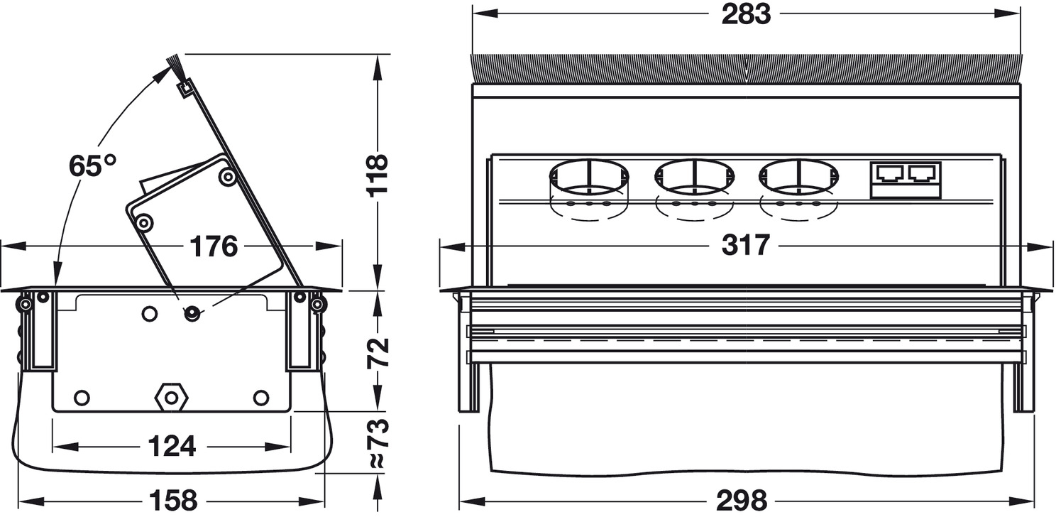 Electrical Outlet Box Diagram