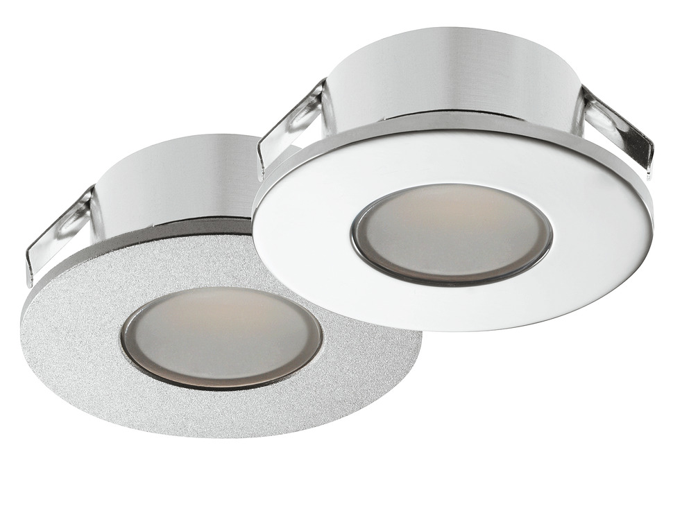 Recess mounted lightsurface mounted downlight round hfele loox recess mounting mozeypictures Image collections