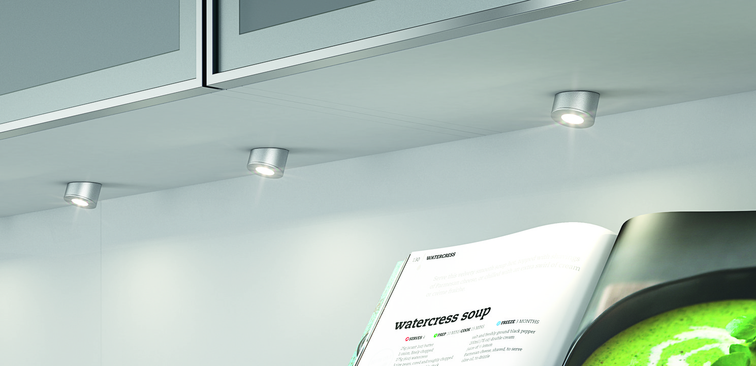 Recess mounted lightsurface mounted downlight round hfele loox mounting as downlight round aloadofball Choice Image