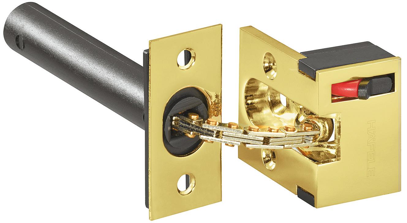 Security door guard, for inwards opening wooden doors | online at HÄFELE