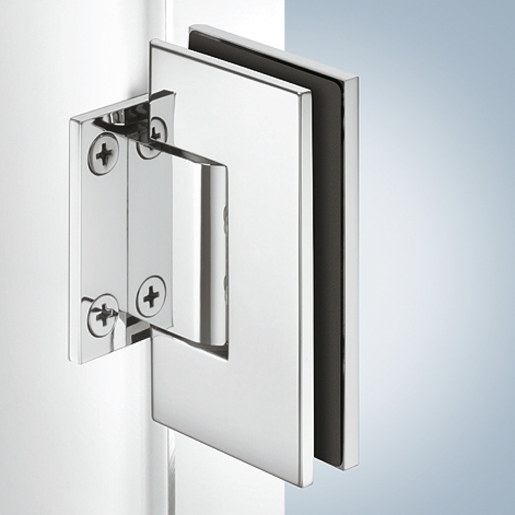 Shower Door Hinge Straight Adjustable Aquasys