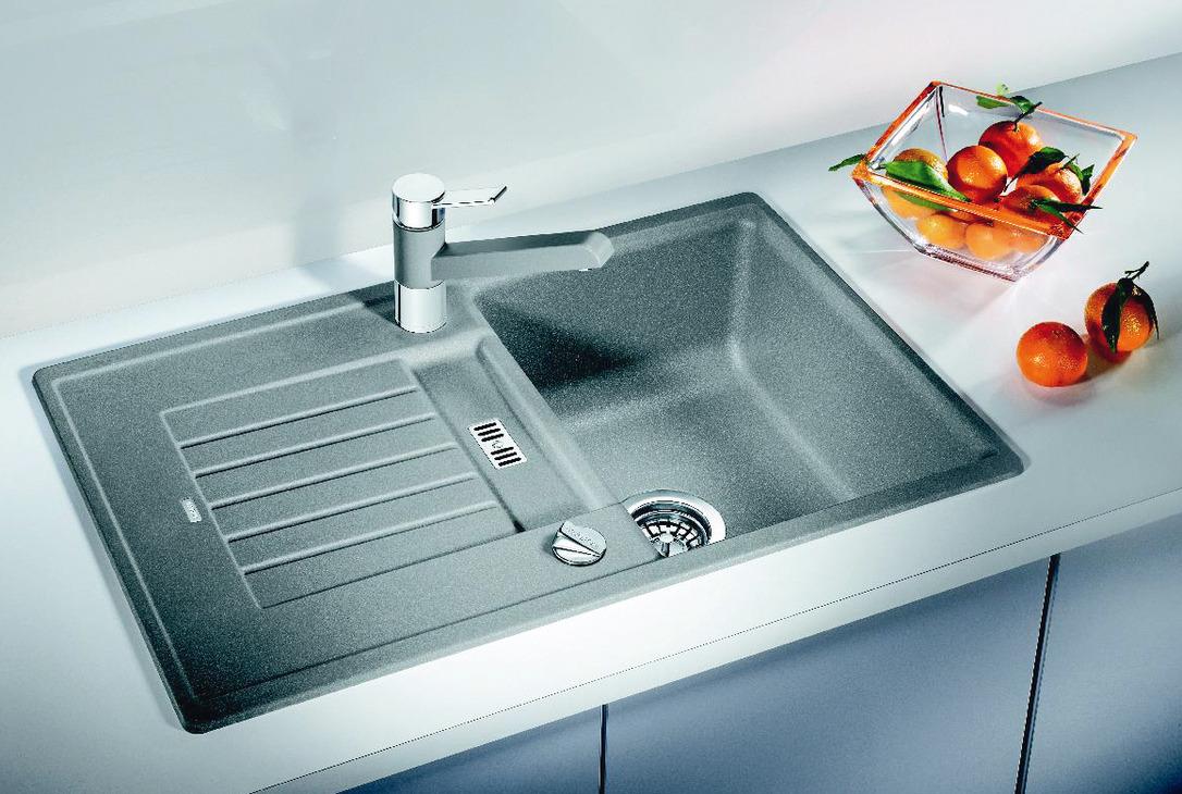 Sink, Silgranit, Blanco Zia, 6 S - in the Häfele Shop