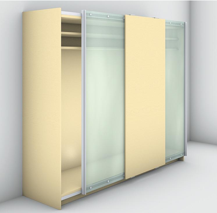 Sliding Door Fitting For Wardrobe Doors Fitting Sets
