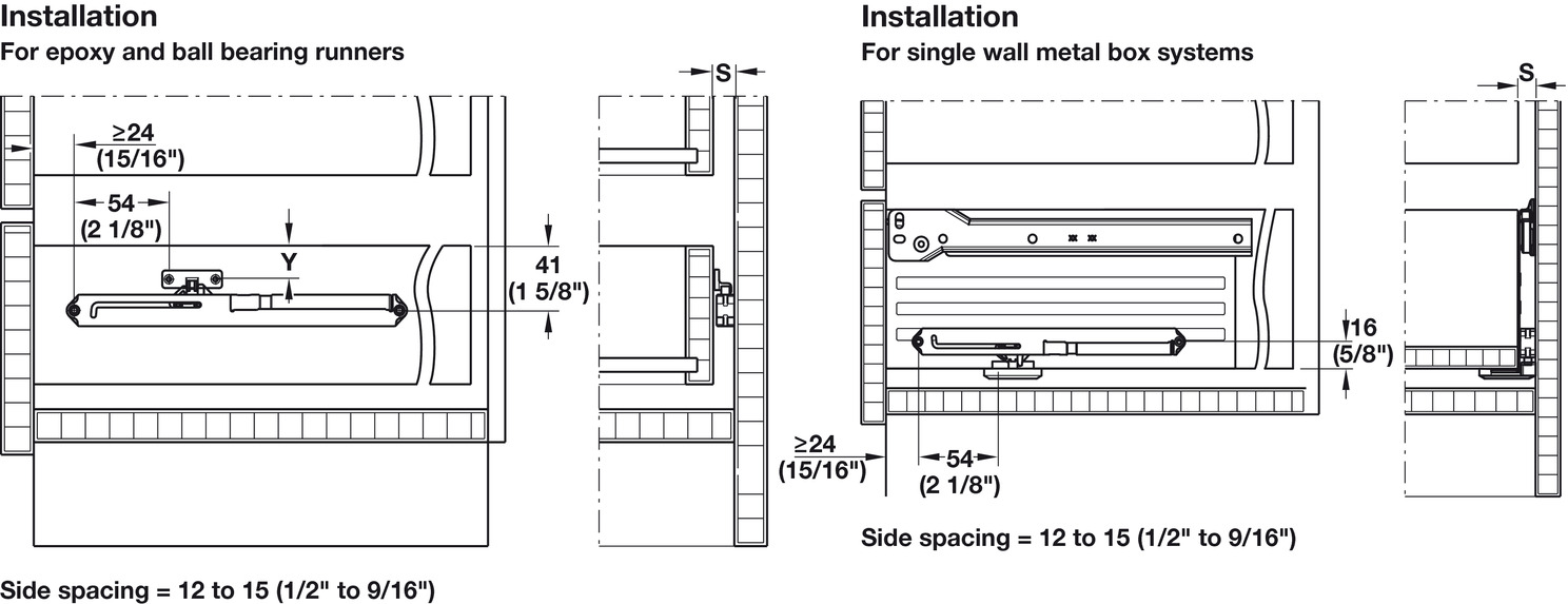 Soft And Self Closing Mechanism Load Bearing Capacity Up