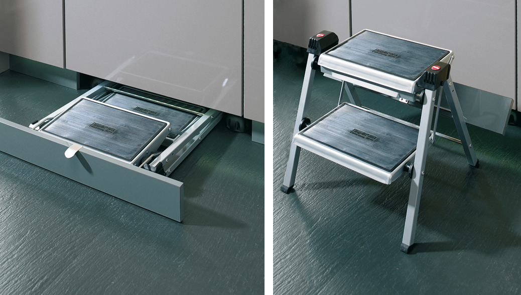 Step Stool Steel Hailo Step Fix In The H 228 Fele Shop