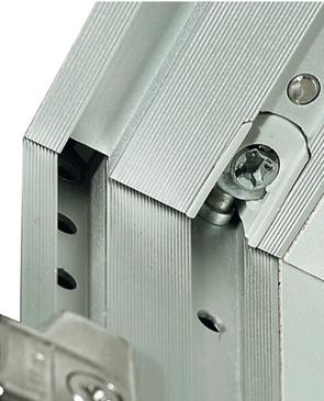 Aluminium cross profile, for shelves   online at HÄFELE