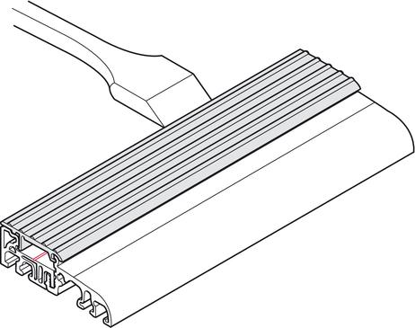 Extrem Haustürschwelle, Eifel 75 T, BKV, thermisch getrennt | online bei UD21